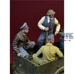 Under Guard - Battle of Britain 1940 - 3 Figures