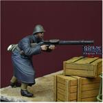 Black Devils Lewis Gunner, WWII Dutch Army 1940