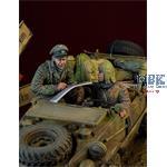 Waffen SS  Schwimmwagen Crew Ardennes 1944