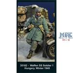 Waffen SS Soldier 2 Hungary Winter 1945