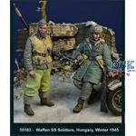 Waffen SS Soldiers -  Hungary Winter 1945