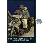 Waffen SS Motorcyle Driver -  Hungary Winter 1945