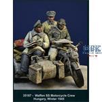 Waffen SS Motorcycle Crew - Hungary Winter 1945