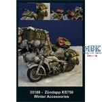 Zündapp KS 750 Accessories Hungary Winter 1945