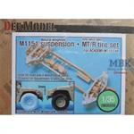 M1151 suspension + MT/R wheels for Academy