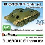Su-85/100 TD PE Fender set