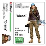 "Female Photographer ""Diana""  1:20"