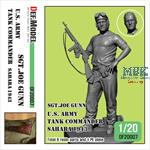 WWII US Tank commander Sgt.Joe Gunn  1:20