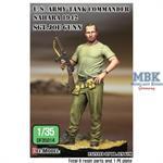 "WWII US Tank commander ""Joe"" in Sahara 1942"