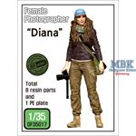 "Female Photographer ""Diana"""