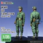 WWII US Tank crew Sahara 1943