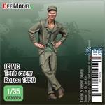 USMC Tank crew Korea 1950