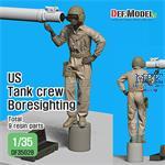 Modern US M1A2 Tankcrew boresighting (1)