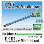 D-10T T-55 Main Gun with Mantlet set