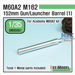 US M60A2 152mm Metal Barrel set (1)