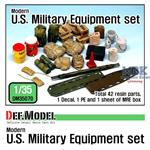 1/35 Modern U.S. military Equipment set