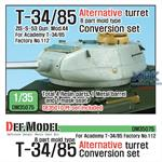 T-34/85 8 part mold type Alternative Turret Conv.