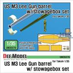 US M3 Lee Gun Barrel w/ Stowagebox Set