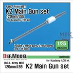 ROK K2 120mm/L55 Metal Barrel Set