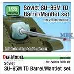 SU-85M TD D-5S Barrel / Mantlet set