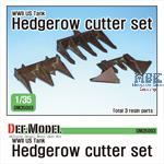 WWII US Tank hedgerow cutter set
