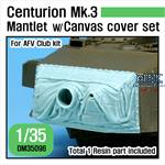 Centurion Mk.3 Mantlet w/ Canvas cover set