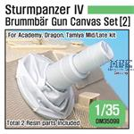 Sturmpanzer IV Brummbar Mid/Late Canvas cover 2