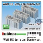 WWII U.S. Jarry can Dummy set