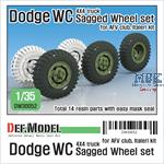 Dodge WC 4X4 truck Sagged Wheel set