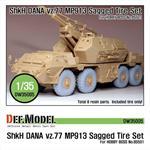 Sz77 DANA ShKH MP913 Sagged Tire set