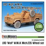 LRD XD Wolf 'W.M.I.K' Mich.235 Sagged Wheel set