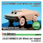 BRDM-2/3 LAV Sagged Wheel set