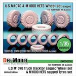 M1070/M1000HETS Sagged wheel set (limitiert)