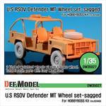"U.S RSOV Defender ""MT"" Sagged wheel set"