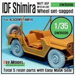 IDF M151 Shimira Sagged wheel set