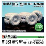 US M1083 FMTV Truck Mich.XL Sagged wheel set