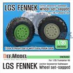 German/Dutch LGS Fennek Sagged Wheel set