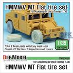 HMMWV MT Flat tire set