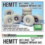 "US HEMTT ""XZL"" M977,M983 Sagged Wheel set"
