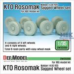 KTO Rosomak Nokian Sagged Wheel set