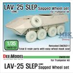"LAV-25 SLEP ""XML"" Sagged Wheel set"