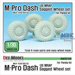 US MRAP M-pro Dash Sagged Wheel set