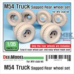 M54A2 Cargo Truck Sagged Rear Wheel set
