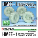 HMEE-1 Sagged Wheel set