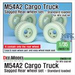 US M54A2 Cargo Truck Sagged Rear Wheel set