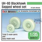 UH-60 Black Hawk Sagged Wheel set