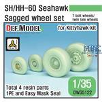 SH/HH-60 Seahawk Sagged Wheel set