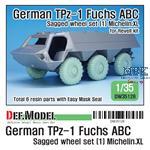 German TPz-1 Fuchs ABC Sagged wheels (1) mich.XL