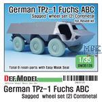 German TPz-1 Fuchs ABC Sagged wheels (2) Contin.