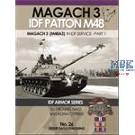 Magach 3 IDF Patton M48 (M48A3) in IDF Service